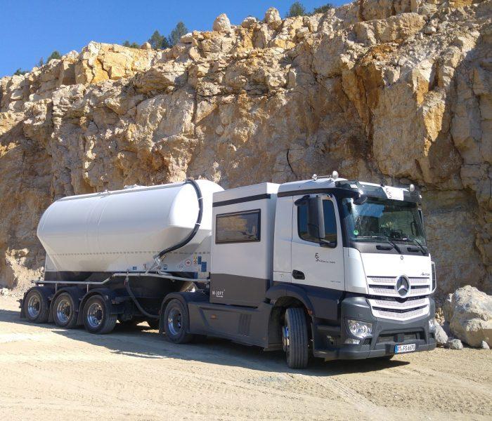 LKW für Tankverfüllung